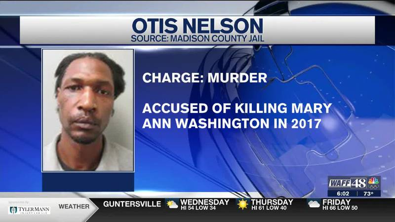 Otis Nelson is charged with murder