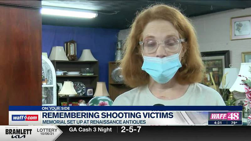 Shoals woman remembers shooting victims