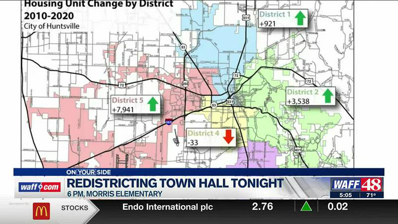 Redistricting town hall meeting tonight at Morris Elementary