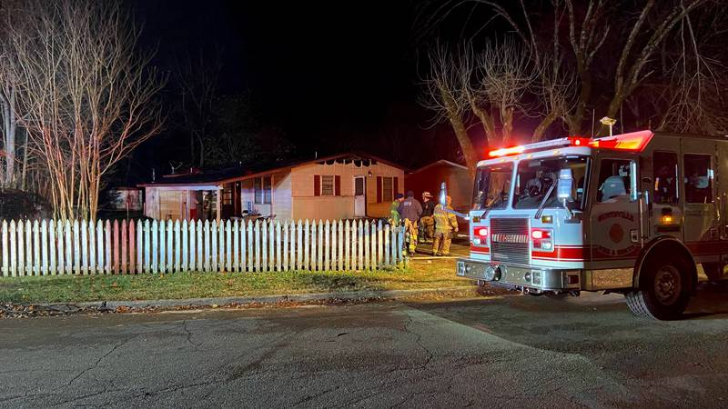 Huntsville Fire crews deal with an overnight call on Boswell Drive