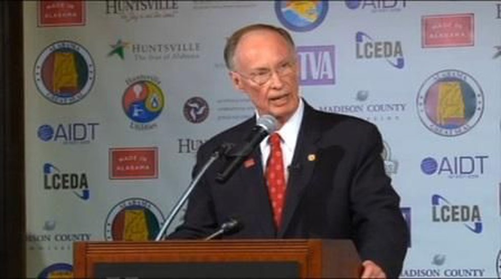 The announcement was made at the Huntsville/Madison Co. Chamber of Commerce.