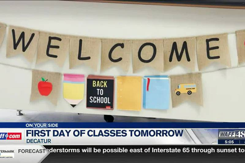 Students at Decatur City Schools return to class Thursday