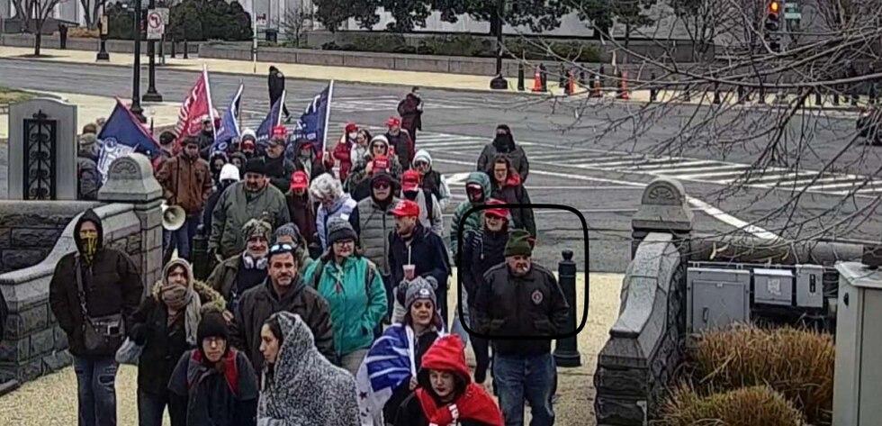 Surveillance photo of Lonnie Coffman in Washington, D.C.