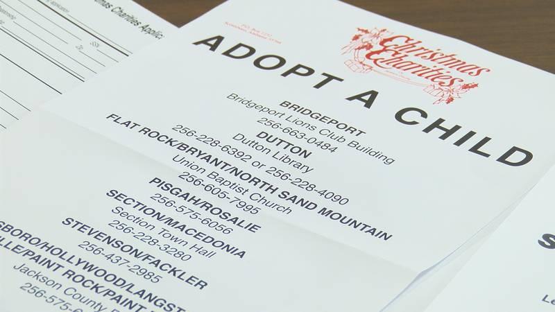 Jackson County Christmas Charities applications