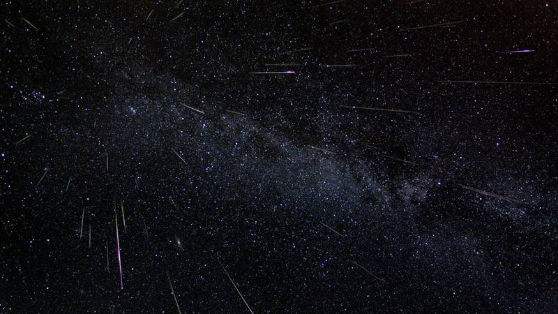 Perseids meteor shower (Source: NASA)