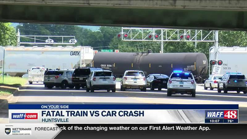 Investigation underway on fatal train crash in Huntsville