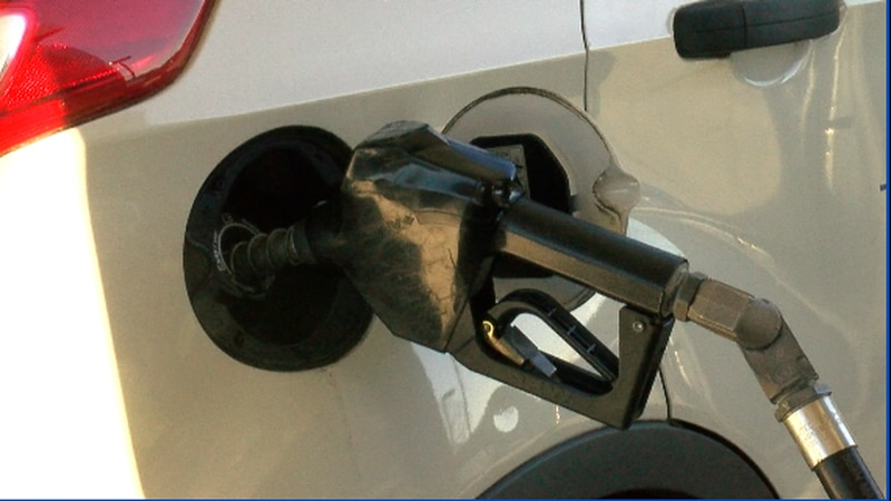 The state and national gas price average is up from last week.
