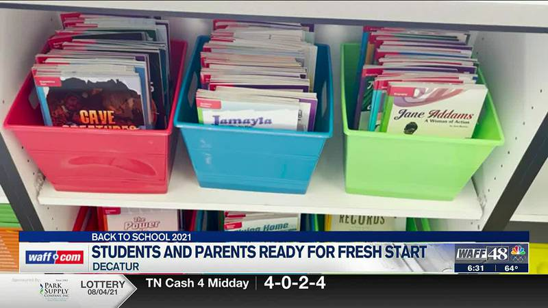 Decatur City Schools welcome students back for first day