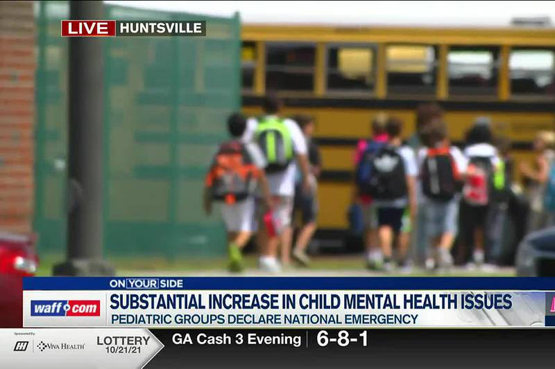 Substantial increase in child mental health issues
