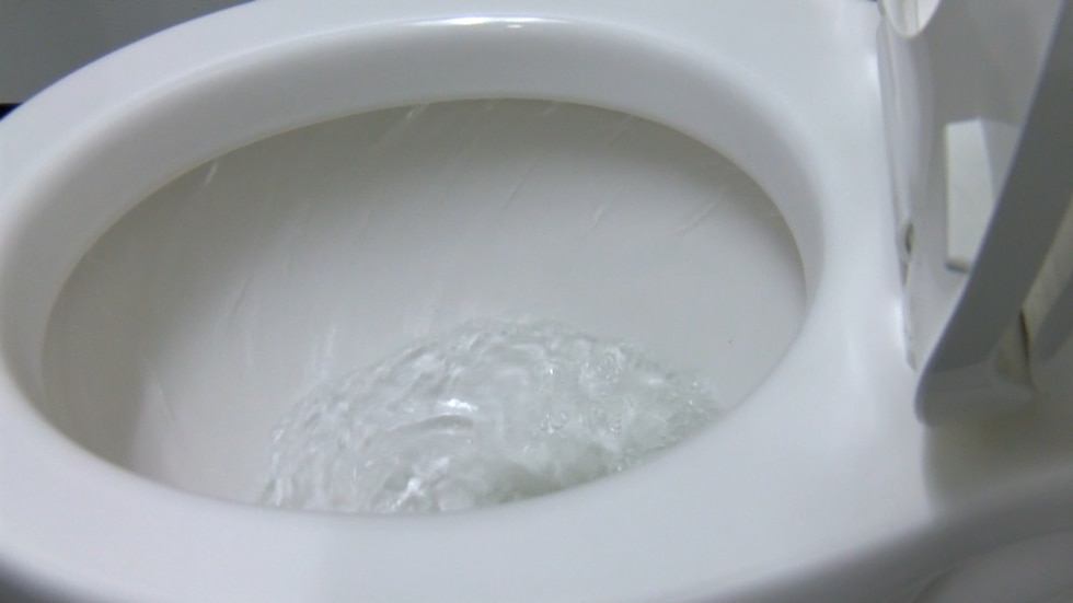 Plumbers urge people to only flush toilet paper down the toilet