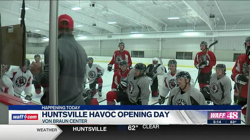 Huntsville Havoc open season on Friday