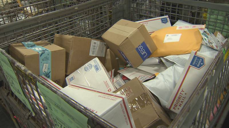 USPS releases list of suggested mail-by dates for holiday packages.