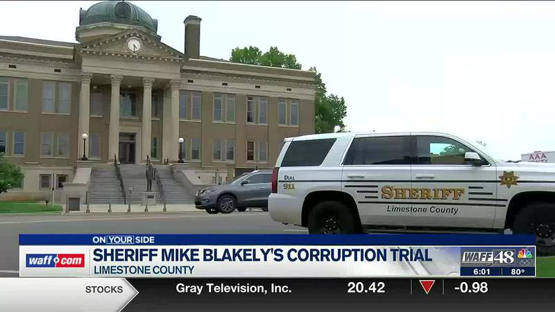 First full day of Sheriff Mike Blakely's ethics trial