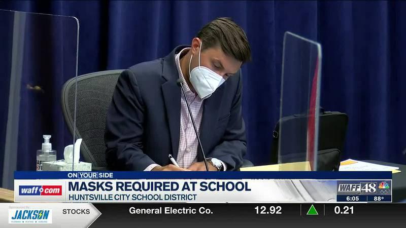 Masks required at Huntsville City Schools