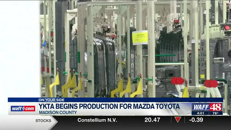 YKTA begins production for Mazda Toyota