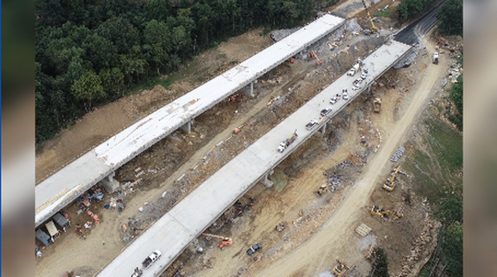 ADOT tells WAFF 48 the bridges on U.S. 231 in Lacey's Spring could be open in 2-3 weeks.