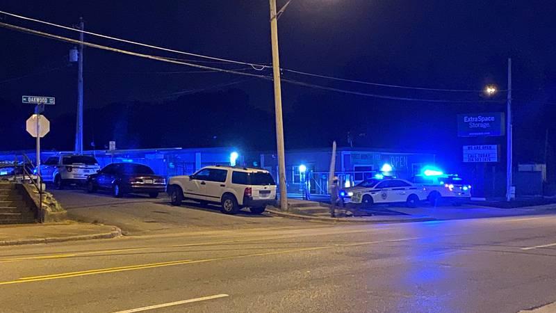 Huntsville police say someone was shot on Davidson Street on July 30, 2020.