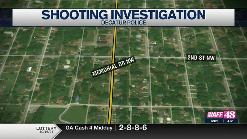The Decatur Police Department is investigating a shooting after one person was shot on Friday.