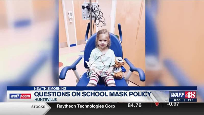 Huntsville parent fights for student mask exemption