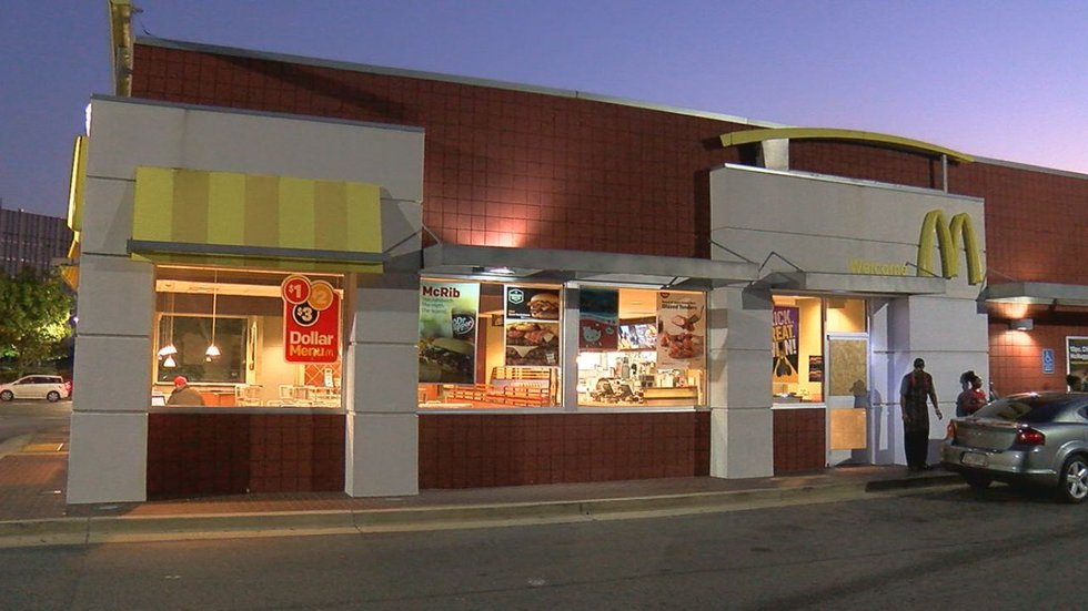 McDonald's on Lomb Avenue