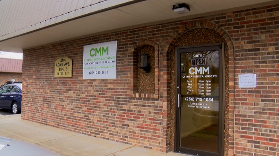 There's a new clinic in Huntsville for the Hispanic community! We're told anyone is welcome....