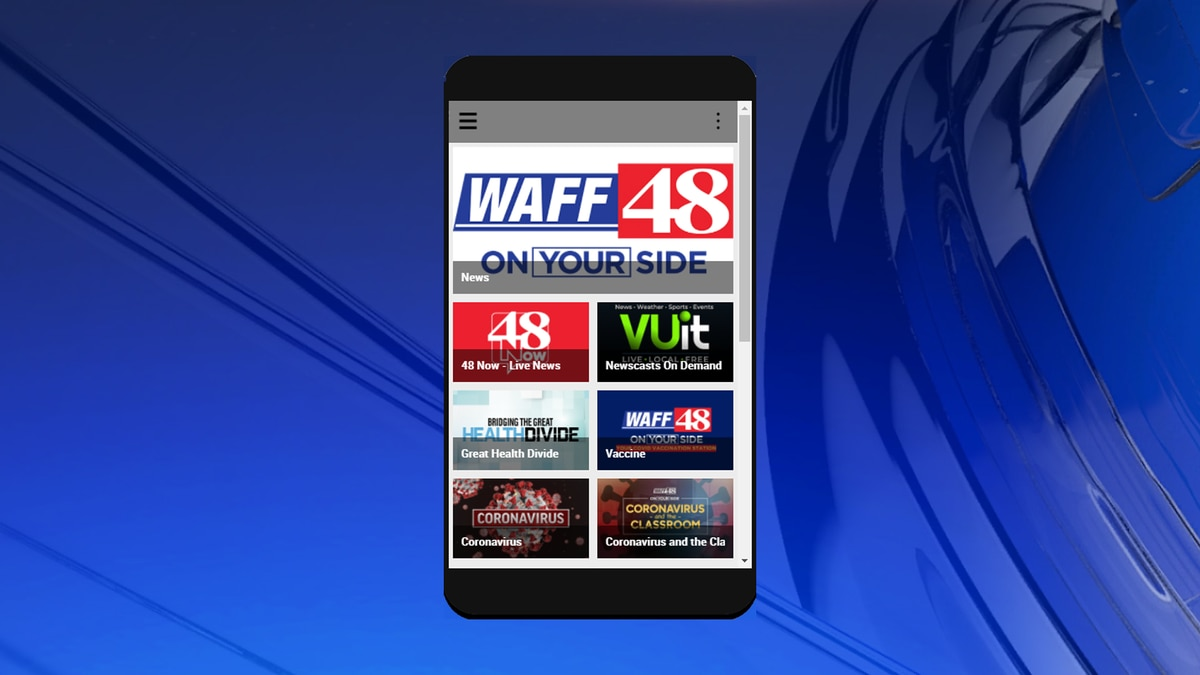 Download the newest update to the WAFF 48 news app on Monday, April 19
