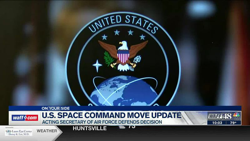 Updates on the U.S. Space Command move to Huntsville