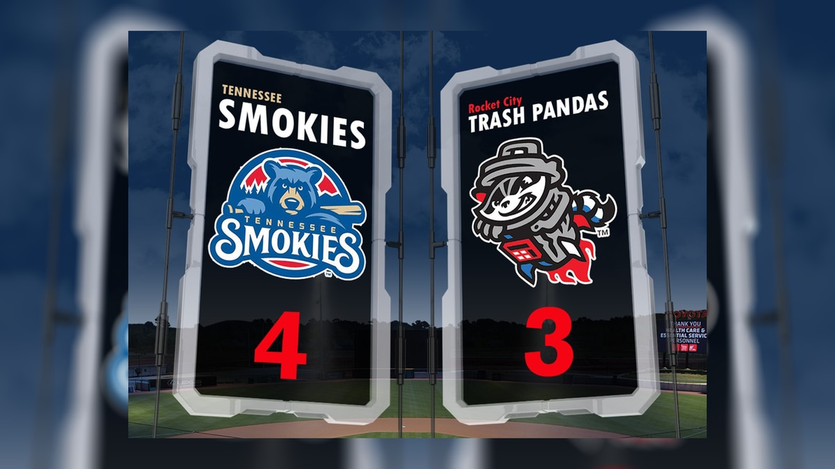 History was made as the Rocket City Trash Pandas finished its very first game in Toyota Field.