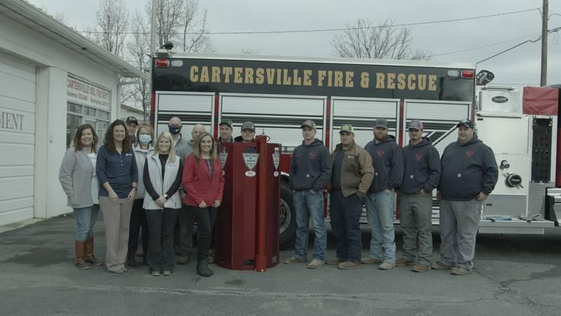Alabama Farm Credit donates life saving equipment to Cartersville Fire Department