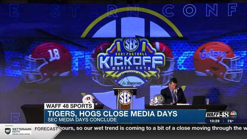 Final day of 2021 SEC Media Days