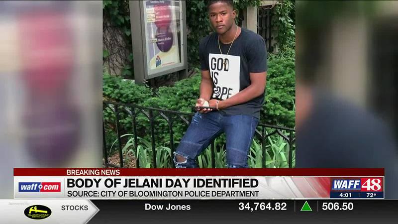 Body of Jelani Day identified