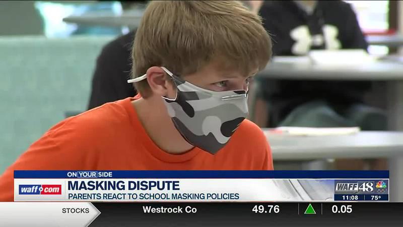 Masking dispute