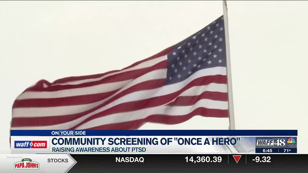 Community screening of ONCE A HERO to raise awareness about PTSD