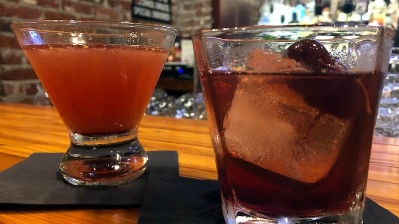 Drinks at All Steak in Cullman