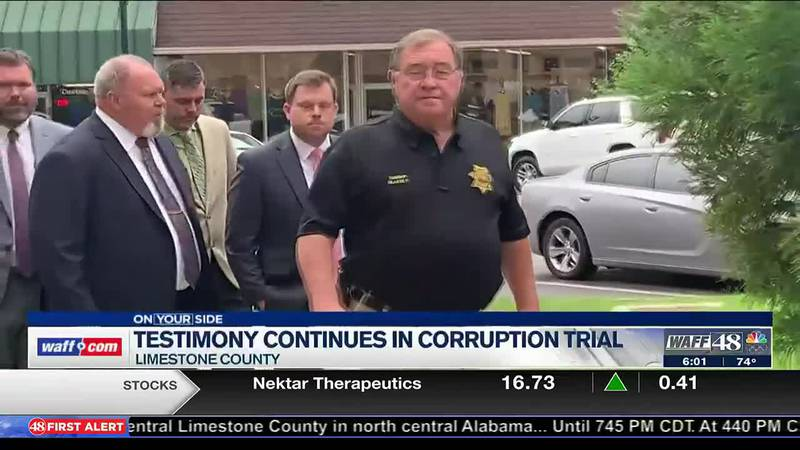 Testimony continues in Sheriff Mike Blakely's ethics trial