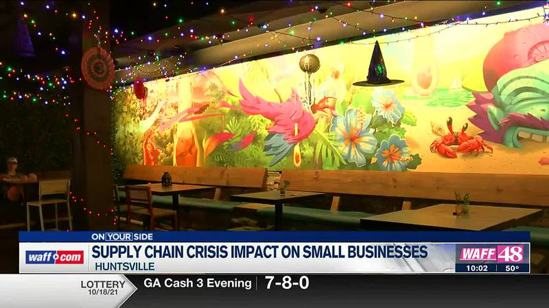Supply chain crisis impact on small businesses