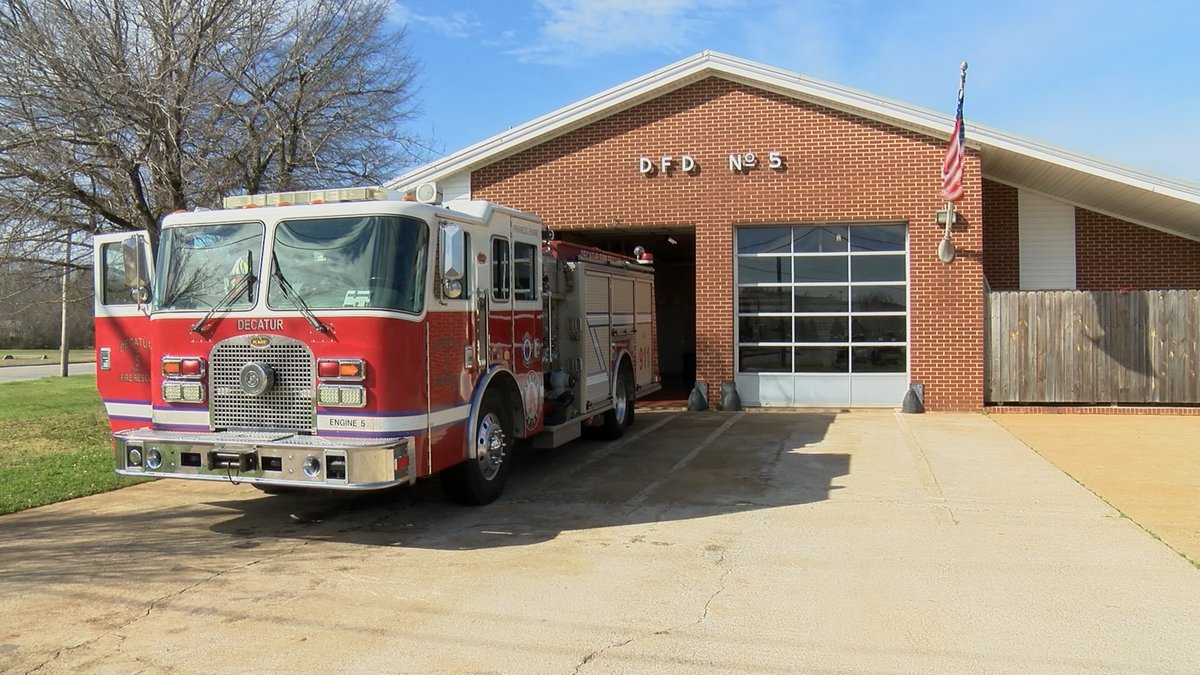 Decatur Fire Station number five's main fire truck is on its last leg.