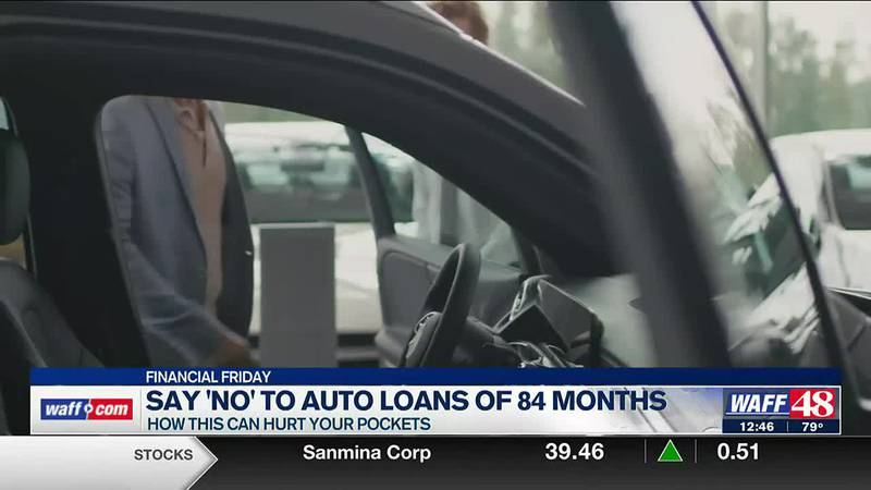 So 'No' to auto loans of 84 months