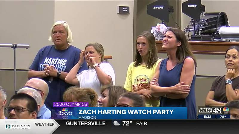 Friends, family in Madison support Olympian Zach Harting