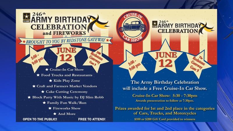 Redstone Army to host 246th birthday celebration for U.S. Army