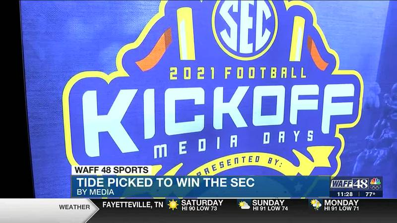 Wrapping up SEC Media Days: Tide picked to win it all
