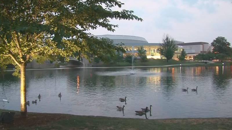 Big Spring Park in Huntsville.