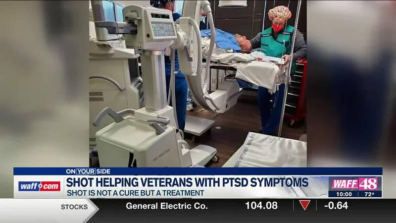 Shot helping veterans with PTSD symptoms