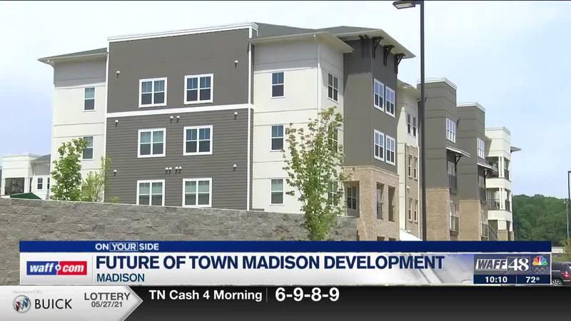 Future of Town Madison development