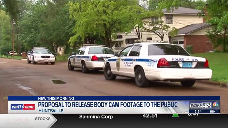 More on a proposal to release Huntsville body cam footage to the public