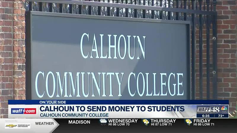 Calhoun to send money to students
