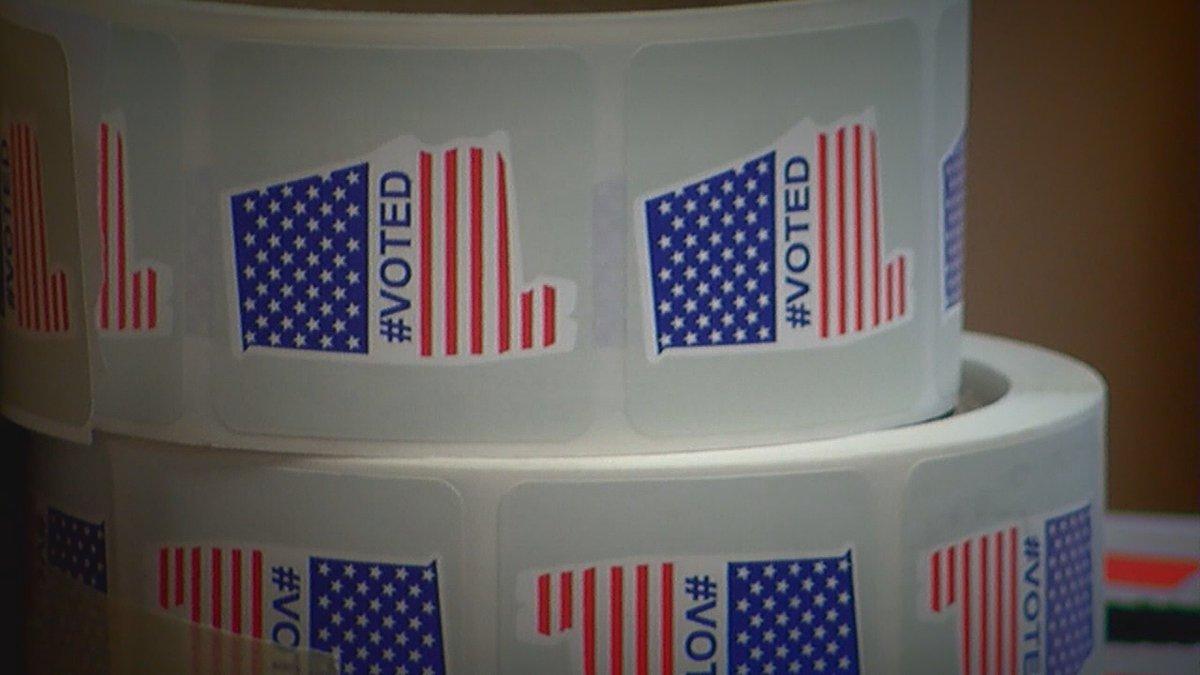 Alabama voter confirmation sticker