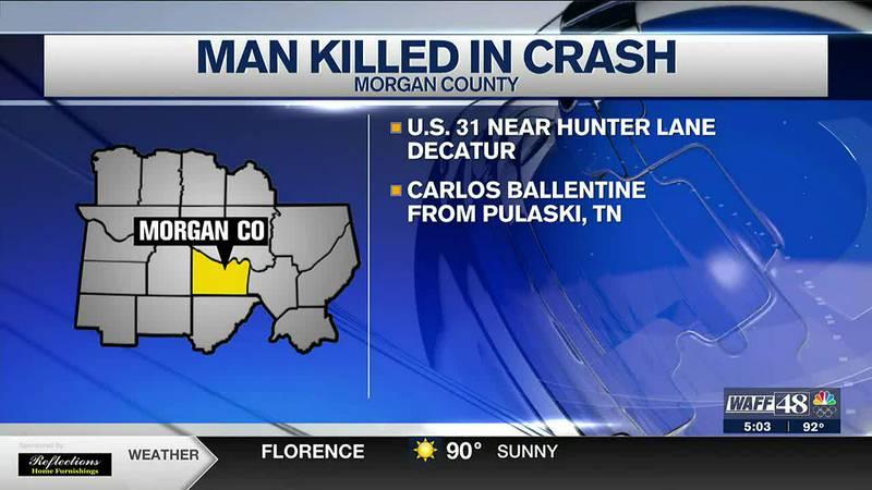 Man killed in crash