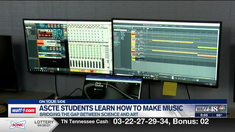 ASCTE students learn how to make music
