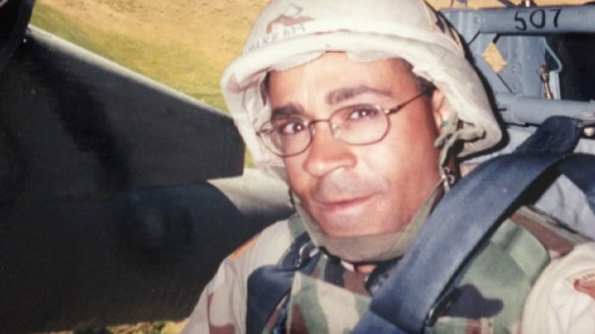 Ayman Girgis pictured during his time serving in Operation Iraqi Freedom